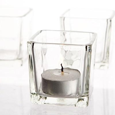 [홈앤하우스] 사각컵 홀더 5355, 티라이트 보티브 유리 홀더