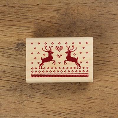 [크리스마스]노르딕문양-하트루돌트 (6X4)