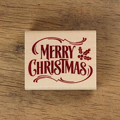 [크리스마스]호랑가시나무 - Merry Chrismas 메세지 (6X5)