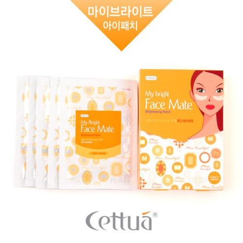 세뚜아 마이 브라이트 페이스 메이트 아이패치 5매 (화이트닝)