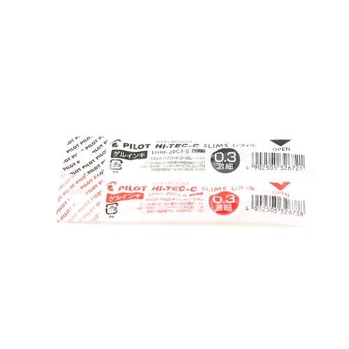 파일롯 하이테크씨 슬림 2컬러 0.4mm 젤잉크 멀티펜리필(2종)