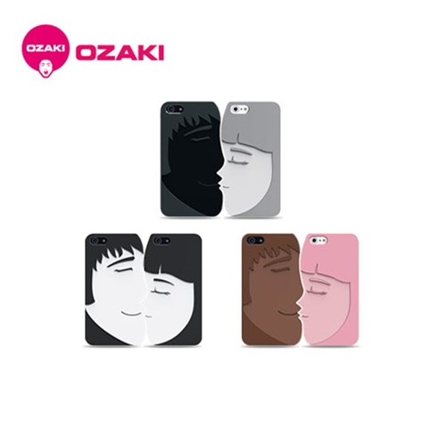 O!coat Lover+ 아이폰5 커플케이스[필름포함] 고무코팅&뛰어난그립감