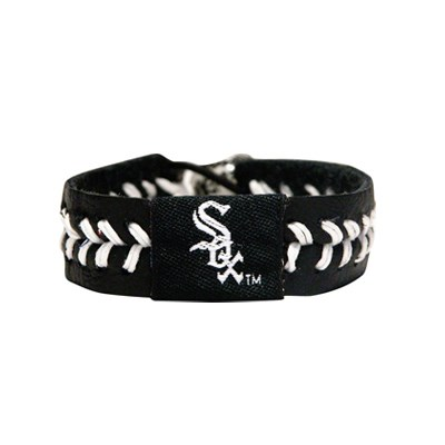 Chicago White Sox Team Color Baseball Bracelet