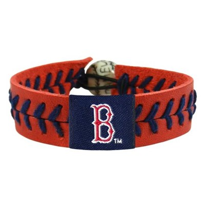 Boston Red Sox Team Color Baseball Bracelet