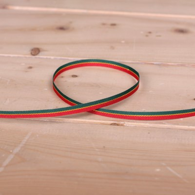 5mm 레드 초록 리본