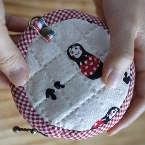 [DIY패턴] 동전지갑만들기-동그라미동전지갑