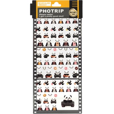 PHOTRIP 포인트 (점착)스티커-판다(714258)