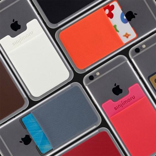 신지파우치 파스텔 카드 핸드폰케이스