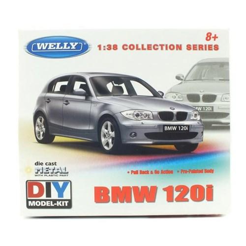1/38 BMW 120i (풀백주행) - 조립킷 (WE236250RE) 금속조립모형