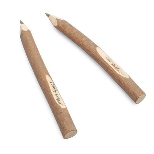 나무 느낌 그대로 원목 볼펜