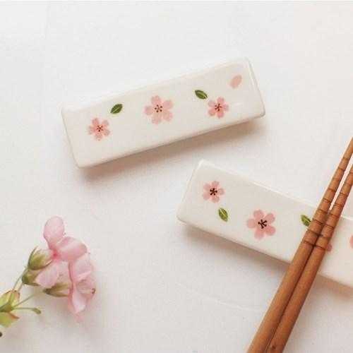 벚꽃시리즈~수저받침