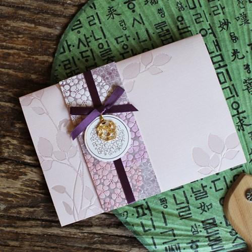 라일락 향기 전통카드 / 030-SG-0025