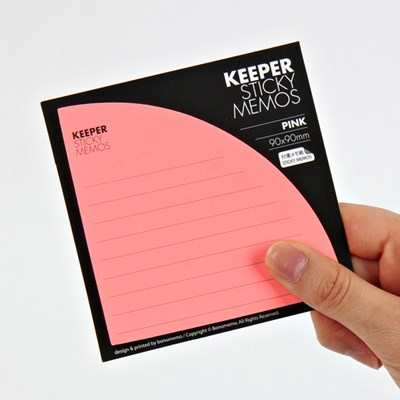KEEPER STICKY MEMOS(Pink)