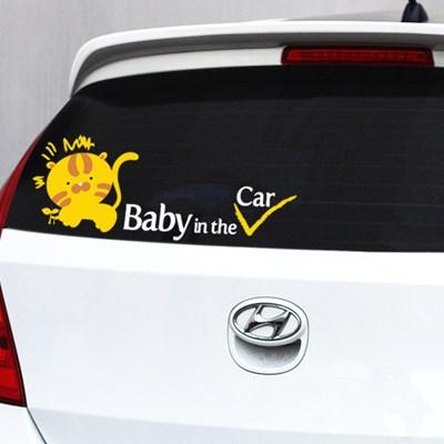 [itstics-Artline] baby in car (호랭이)