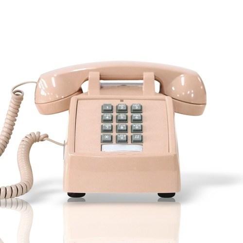 [코텔코] 오리지널 빈티지 유선전화기 연핑크