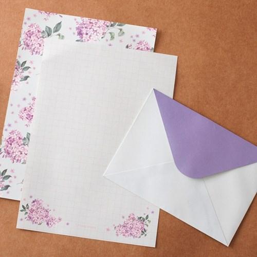 Floral Letter Set_ 수국