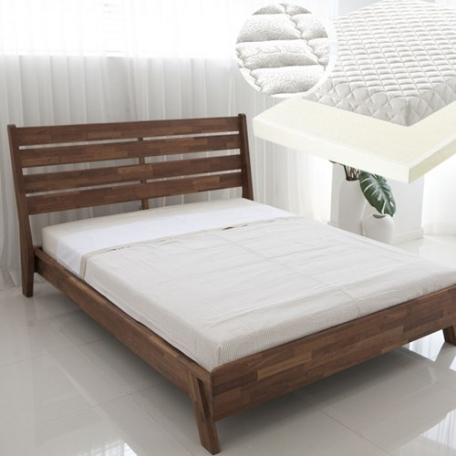 [OBZET] Vodder 보더 침대(Q:1500)-이태리 라텍스매트드리스 패키지