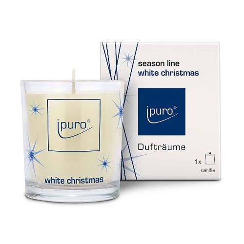 [ipuro] Christmas Edition Candle   White Christmas 160g