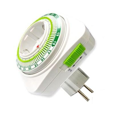 [빠띠라인] 에너지절약 절전타이머 콘센트 24H-103
