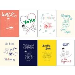 [꼬떼아꼬떼]A Day For You Postcard