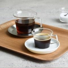 [킨토] 캐스트 220ml 커피잔세트(스텐레스서버)