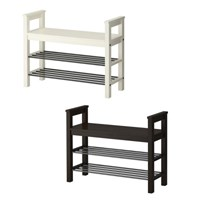 HEMNES Bench with shoe storage 신발정리대