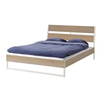 [SET]TRYSIL Bed frame + Mattress 퀸침대 매트리스세트