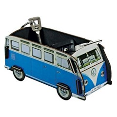 Mini Box-blue bus