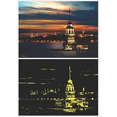 페레-1000조각 야광퍼즐 - 터키 이스탄불 (pr1903)