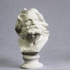 A.R.T.S 소형 미니 히게 수염남자 18cm 석고상