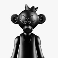 EPICASE Art Figure kingong black