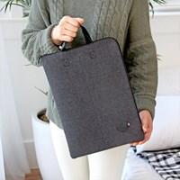 더 베이직 펠트ver.4 노트북 스트랩 파우치 13형
