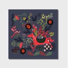 라미나테이블 포터블에디션 | 말랑루나에디션 art no. 004