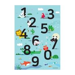[Baby series]숫자포스터 1