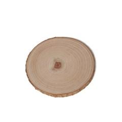 통나무 원목 받침대 소형