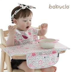 [베리핑크]휴대용아기식탁커버 / 식당의자위생 걱정끝 / 외출필수품