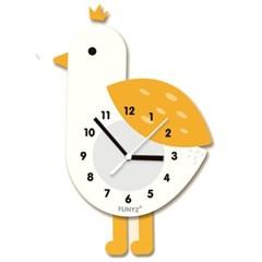 [퍼니즈]어썸프렌즈(버드)/움직이는 추시계/12종/무소음벽시계