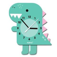 [퍼니즈]어썸프렌즈(공룡)/움직이는 추시계/12종/무소음벽시계