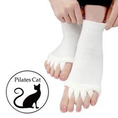 [무료배송] 필라테스 고양이양말