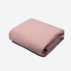 [룰라바이] Soft Linen Pink Comforter 린넨 핑크 차렵이불
