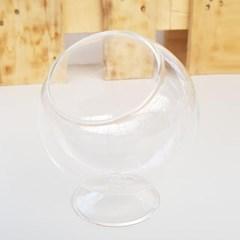 원형 유리 테라리움 화분