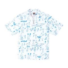 [SS18 NOUNOU] Summer Beach Oxford Popover Shirts(Whi_(621327)