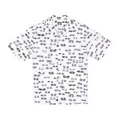 [SS18 NOUNOU] Eyes Rayon Shirts(White)_(621324)