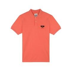 [SS18 NOUNOU] Face Pique Shirts(Pink)_(621315