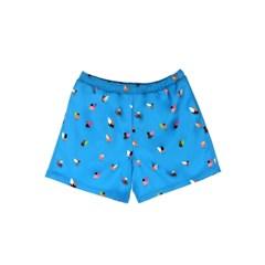 [SS18 NOUNOU] Surfer Pattern Short Pants(Blue)_(621311)