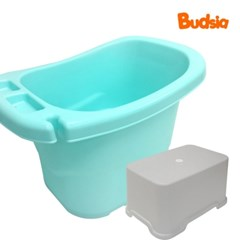 [버드시아] 디럭스 아기욕조 + 욕실의자 세트