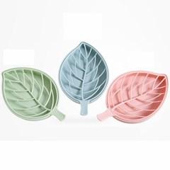나뭇잎 비누 받침대