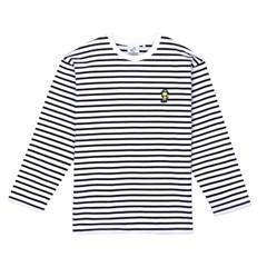 [FW18 Peanuts] Stripe Roundneck Long Sleeve(Navy)_(640741)