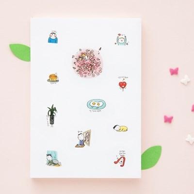 2019 토닥토닥 주간다이어리 (날짜형)
