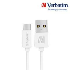 케이블 라운드 Type-USB A to C 2.0 200cm 화이트